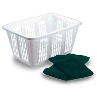 Rubbermaid Laundry Baskets FG296585WHT - Pack of 8