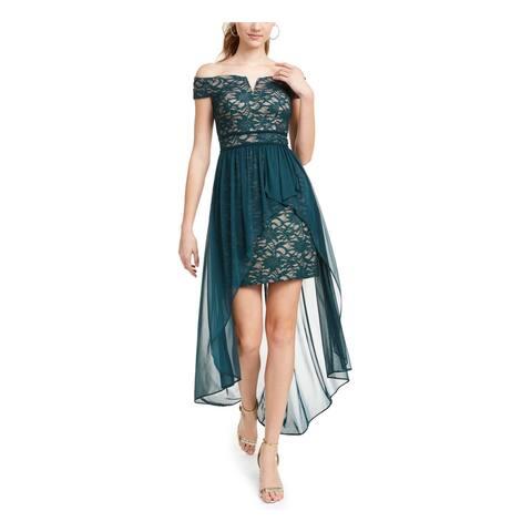 MORGAN & CO Green Full-Length Dress 0