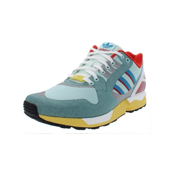 official photos 7f060 4ee1f Shop adidas Originals Mens ZX Flux Weave Fashion Sneakers ...