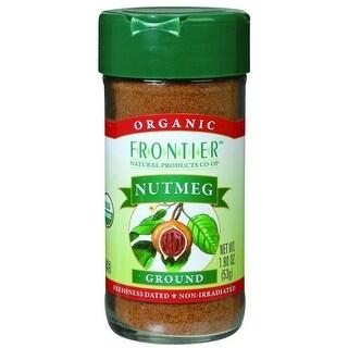 Frontier Herb - Organic Ground Nutmeg ( 1 - 1.90 OZ)