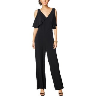 Lauren Ralph Lauren Womens Jumpsuit Ruffled Sleeveless