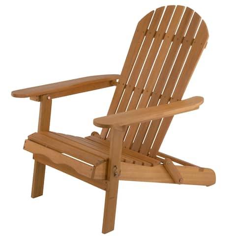 Eucalyptus Grandis Wood Adirondack Chair - N/A