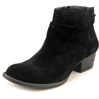 Jessica Simpson Dalisa Women Pointed Toe Suede Black Ankle Boot