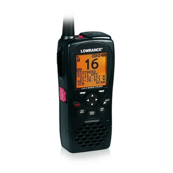 Lowrance 000-10782-001 Link-2 VHF/GPS Handheld Radio Link-2 VHF/GPS Handheld Radio