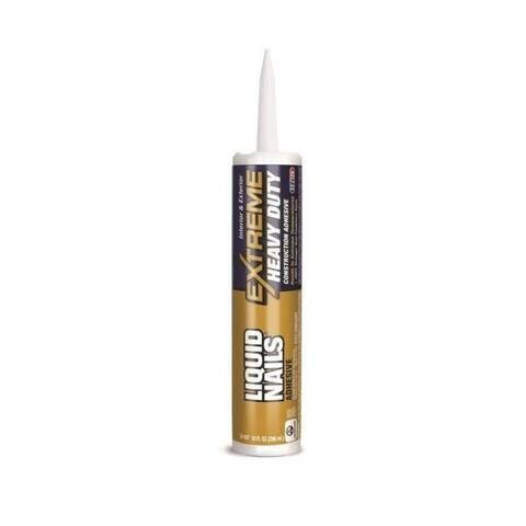 Liquid Nails LN-907 Heavy Duty Construction Adhesive, 10 Oz