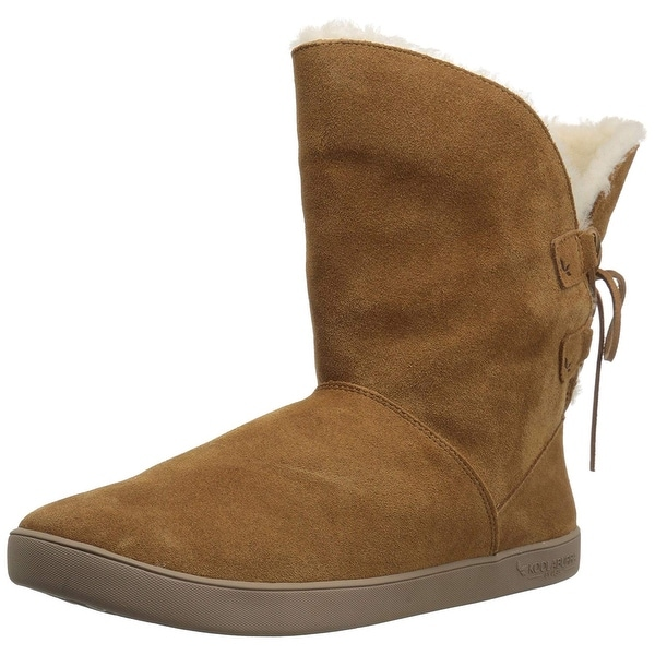 Koolaburra by UGG Womens Shazi Short Suede Closed Toe Ankle Cold Weather Boots