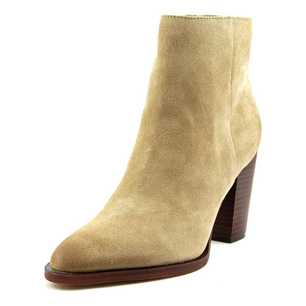 Sam Edelman Blake Women Pointed Toe Leather Tan Ankle Boot