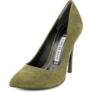Charles David Rebecca Women Pointed Toe Suede Heels