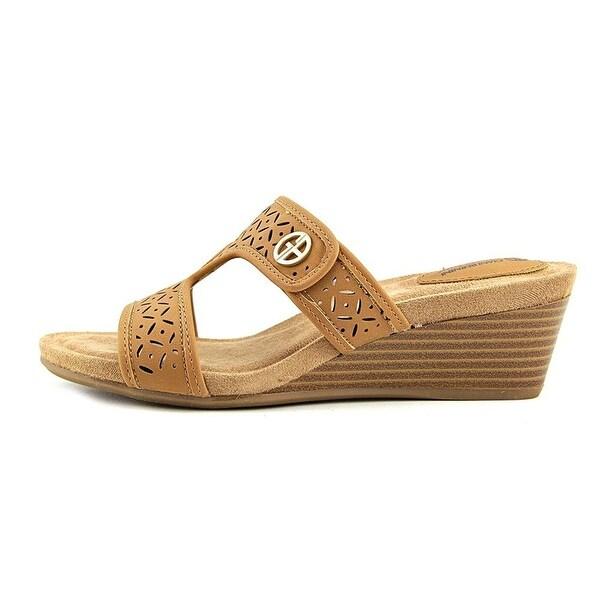 Giani Bernini Womens Brezaa Open Toe Casual Slide Sandals