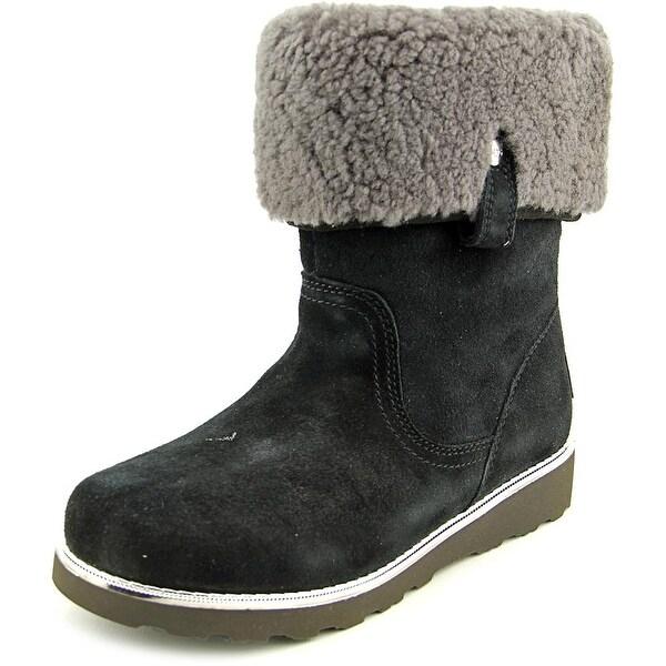 422f223ae6c Shop Ugg Australia Callie Round Toe Suede Winter Boot - Free ...