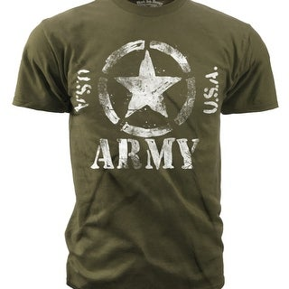 "Black Ink Design US Army ""Classic Star U.S.A."" Men's T-Shirt"
