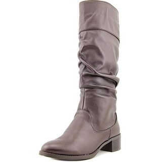 Easy Street Cheyenne WW Round Toe Synthetic Knee High Boot