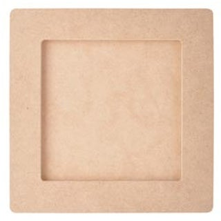 """6.5""""X6.5""""; 4.5""""X4.5"""" Opening - Beyond The Page Mdf Square Frame"""
