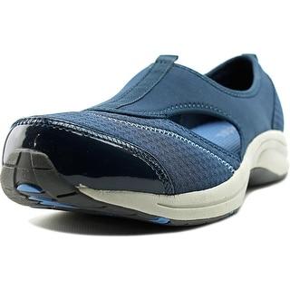 Easy Spirit e360 7 Wamanda Women WW Round Toe Canvas Blue Walking Shoe