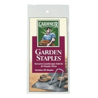 "Gardeneer GS-20 Garden Clip Strip Staple, 4.5"", 20/Pack"