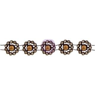 Rossi Belle Rhinestone Flower Chain-