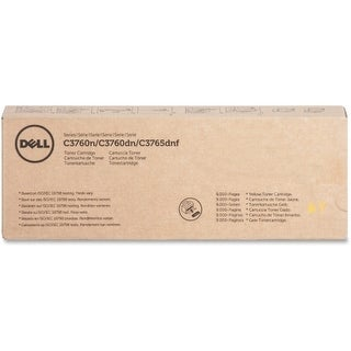 Dell MD8G4 Dell Toner Cartridge - Yellow - Laser - 9000 Page - 1 / Pack