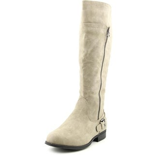 Easy Street Burke W Round Toe Synthetic Knee High Boot