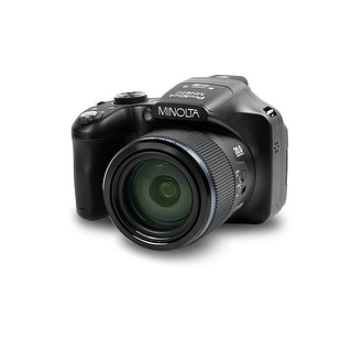 "Link to Minolta 20 Mega Pixels High Wi-Fi Digital Camera with 67x Optical Zoom, 1080p HD Video, 3"" LCD (Black) Similar Items in Digital Cameras"