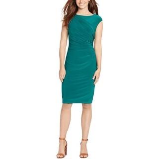 American Living Womens Wear to Work Dress Pleated Sheath - 14
