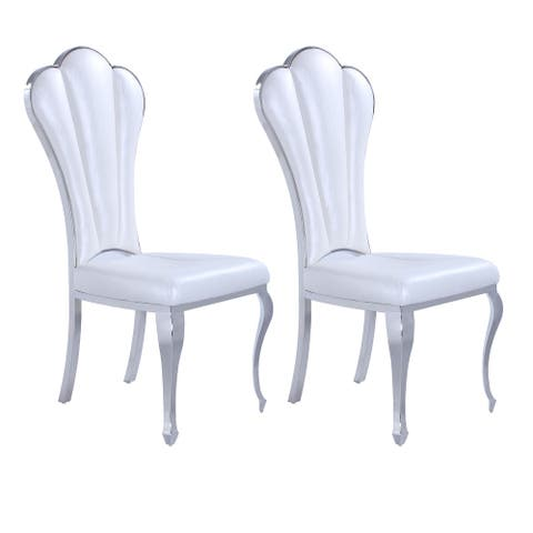 Somette Remi Shell-Back Side Chair, Set of 2