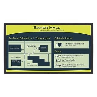 Planar - 65In Diagonal, Fhd, Ultra Slim, Led Backlight, 24X7 Reliability, Metal Bezel, La