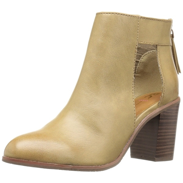 BC Footwear Women's Combust Ankle Bootie, Sand, Size 9.0