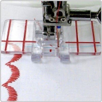Janome Top-Load Border Guide Foot