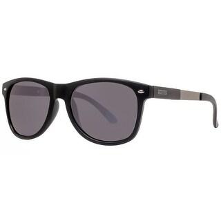 Kenneth Cole Reaction KC1259 02X Women's Black Blue Square Sunglasses - 55mm-18mm-145mm