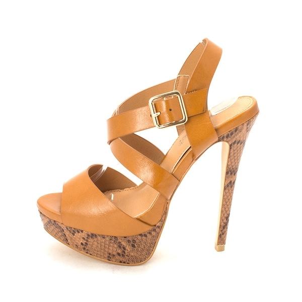 3821a846fae Shop ShoeDazzle Womens Shanelle Peep Toe Casual Platform Sandals ...
