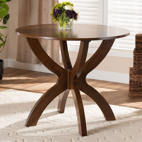 Tilde Modern and Contemporary 35-Inch-Wide Round Dining Table