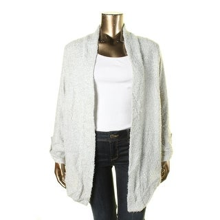 Two by Vince Camuto Womens Cardigan Sweater Drape Long Sleeves