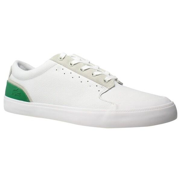 Shop Lacoste Mens 4Hnd.15 316 White Fashion Shoes Size 11.5 - Free ... 703f5bbc2b4