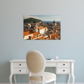 Easy Art Prints John & Lisa Merrill's 'Croatia' Premium Canvas Art