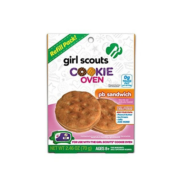 Girl Scouts Cookie Oven Refill Kit: PB Sandwich