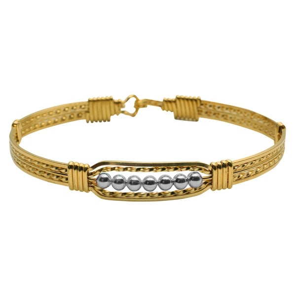 Women's The Power Of Prayer 14K Gold-Filled Beaded Bracelet - Gold
