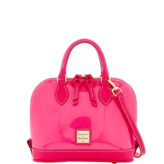 Dooney & Bourke Patent Bitsy Bag (Introduced by Dooney & Bourke at $178 in Sep 2016) - Fuchsia