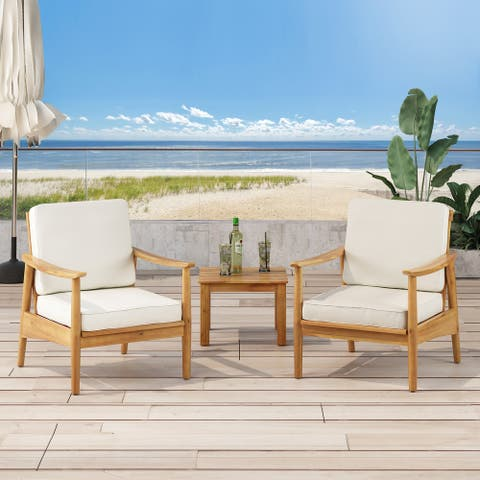 Willowbrook Wood Club Chair (Set of 2) by Christopher Knight Home