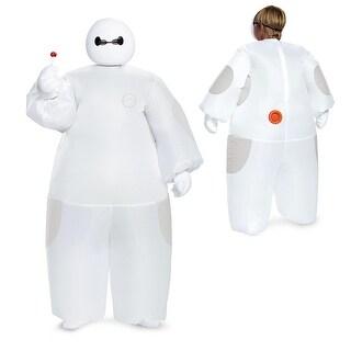 Kids Disney Big Hero 6 Inflatable White Baymax Costume - Medium
