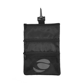 Orlimar Golf Detachable Accessory Pouch, Black