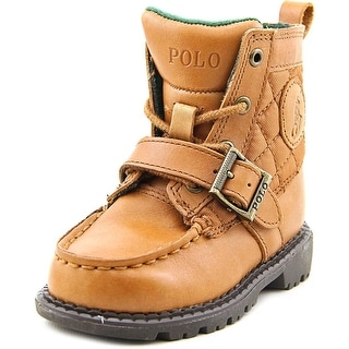 Polo Ralph Lauren Ranger Hi II   Round Toe Leather  Ankle Boot
