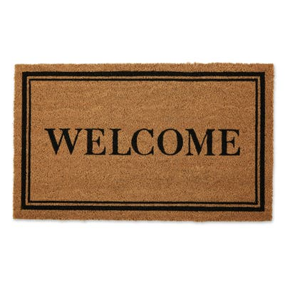 DII Damask Welcome Mat