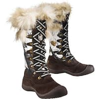 Legendary Whitetails Women's Big Game Camo Arctic Snow Boots - Brown