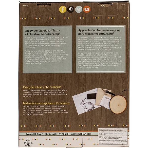 Creative Woodburning Craft Kit I-