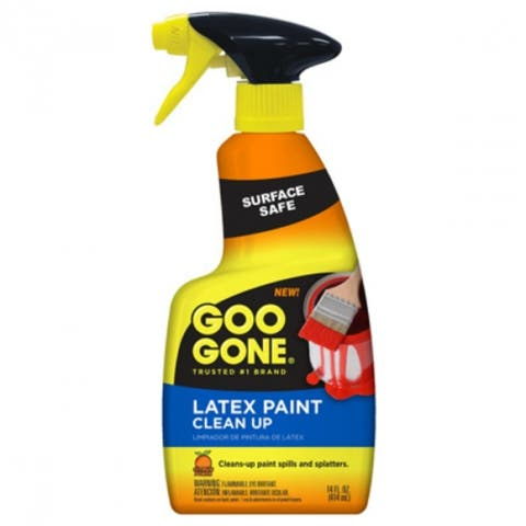Goo Gone 2179 Paint Clean Up, Trigger Spray, 14 Oz
