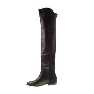 Chinese Laundry Womens Rilley Closed Toe Over Knee Fashion Boots
