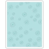 Sparkles By Tim Holtz - Sizzix Texture Fades A2 Embossing Folder