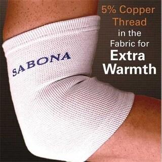 Sabona 71470 Copper Thread Wrist Support - Large & Extra Large