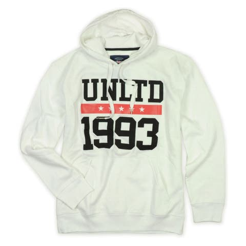 Ecko Unltd. Mens Embroidered 1993 Hoodie Sweatshirt