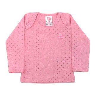 Baby Shirt Unisex Polka Dot Long Sleeve Tee Infant Pulla Bulla Sizes 0-18 Months (More options available)